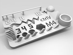 Test your 3D printer! v2 by ctrlV.