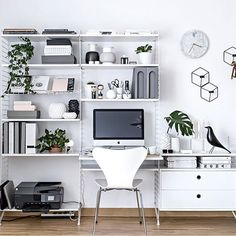 workspace inspo@my_full_house __ follow me for more beautiful interior inspiration