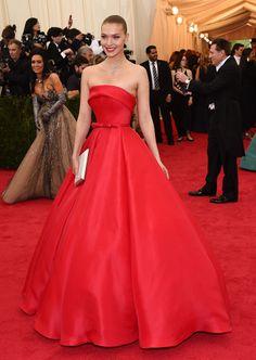 OMG, que hermoso vestido!  MET GALA 2014