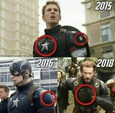 Captain America changes