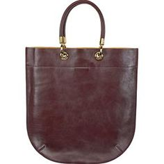 Buttery soft cordovan leather...a grab and go bag.