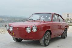 Fiat 850 Coupé uit 1968 tweede serie 900cc 4-cilinder