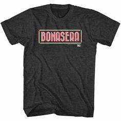 Godfather Bonasera Black T-Shirt