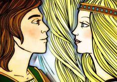 Tristan et Iseult Tristan Et Iseult, Fable, Celtic, Disney Characters, Fictional Characters, Aurora Sleeping Beauty, Culture, Disney Princess, Art