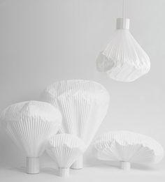 Inga Sempe table lamps via Design for Mankind