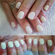 Remplissage gel + gelcolor by o.p.i effet sucre