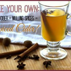 How To Make Apple Cider and Mulling Spices for Spiced Cider