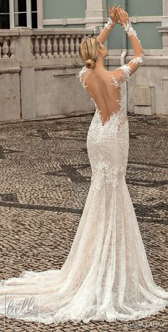 Galia Lahav Wedding Dresses Fall 2019 – Belle The Magazine - fall wedding dresses Gorgeous Wedding Dress, Fall Wedding Dresses, Bridal Dresses, Dresses Dresses, Dusty Pink Bridesmaid Dresses, Sweetheart Bridal, Backless Wedding, Bridal Collection, Marie