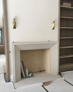 Hottest Absolutely Free Fireplace Remodel concrete Thoughts Most up-to-date Free limestone Fireplace Surround Ideas Concrete fireplaces can …, Cast Stone Fireplace, Stone Fireplace Surround, Tall Fireplace, Simple Fireplace, Limestone Fireplace, Concrete Fireplace, Fireplace Hearth, Marble Fireplaces, Living Room With Fireplace