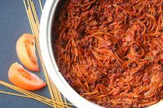 Linssinööri: Soija-spagettivuoka – koko perheen suosikki Japchae, Macaroni And Cheese, Plant Based, Chili, Vegan Recipes, Spaghetti, Soup, Ethnic Recipes, Mac And Cheese