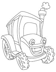 Tractor Coloring Pages Picture Tractor Coloring Pages, Earth Day Coloring Pages, Old Pickup Trucks, Picture Tag, Drawing For Kids, Cartoon Images, Printable Coloring Pages, Coloring Pages For Kids, Paw Patrol