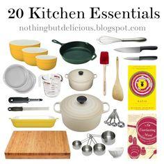 Kitchen Essentials by hmmessinger, via Polyvore