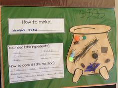 How to make wombat stew craft Play Based Learning, Project Based Learning, Kindergarten Literacy, Literacy Activities, Wombat Stew, Possum Magic, Australia Day, Australia Crafts, Procedural Writing