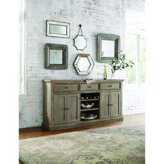 Home Decorators Collection Aldridge Antique Grey Buffet 9415000270 at The Home Depot - Mobile