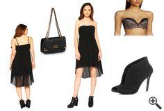 Warum Sonja diese 3 Outfit Tipps lieben wird... http://www.fancybeast.de/cocktailkleider/schwarzes-traegerloses-kleid-vorne-kurz-hinten-lang-vokuhila-sommer-outfit/ #Trägerlos #Kleid #Kleider #Dress #Outfit #Sommer #schwarz #Fashion