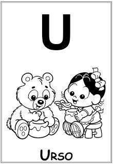 Alfabeto Ilustrado Turma Da Monica Com Imagens Monica Para