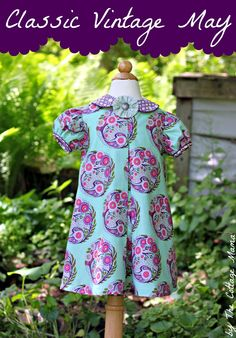 Classic Vintage May Dress - The Cottage Mama
