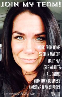 Love earning great money playing with makeup and social media!! Great gig!!! Looking to grow my amazing team! Click her to join me!