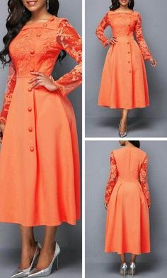 Long African Dresses, Latest African Fashion Dresses, Classy Work Outfits, Classy Dress, Ladies Frock Design, Casual Gowns, Short Frocks, Gown Party Wear, Frock Patterns