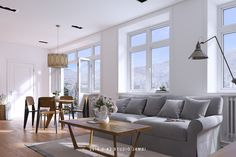 Scandinavian Apartment on Behance