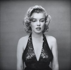 Richard Avedon.  Marilyn, May 1957.