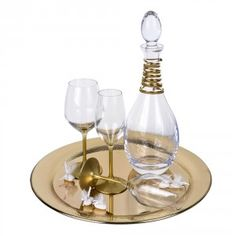 Σετ γαμου 861 Wine Decanter, Barware, Wine Carafe, Bar Accessories, Drinkware
