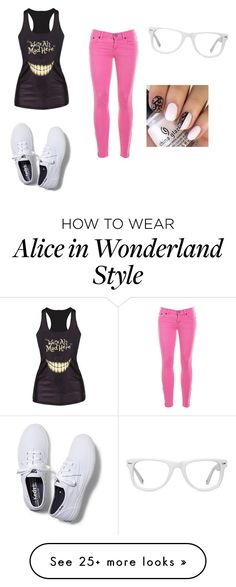 """Alice in wonderland"" by alj062003 on Polyvore featuring Keds, J.Crew, Muse, women's clothing, women, female, woman, misses and juniors"