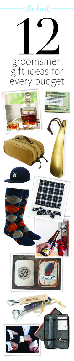 Best Groomsmen Gift Ideas for Every Budget!