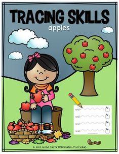 Apple Tracing Skills