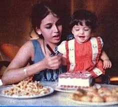 Aishwarya with mom Brinda Rai