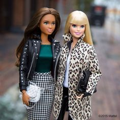 """Dynamic duo, tag your bestie!  #barbie #barbiestyle"""