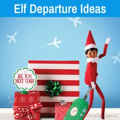 New Free Elf departure ideas Christmas Garden, Christmas Décor, Christmas Ideas, Elves At Play, Elf Goodbye Letter, Play Stick, Naughty Or Nice List, Elf Pets, Bad Elf