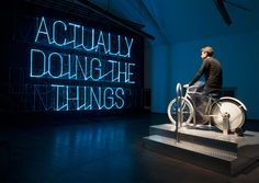 Design for life: Stefan Sagmeister's 'The Happy Show' arrives at MAK, Vienna Stefan Sagmeister, Sagmeister And Walsh, Showroom Interior Design, Happy Show, Mazes For Kids, How To Be A Happy Person, Wallpaper Magazine, Environmental Graphics, Art And Technology