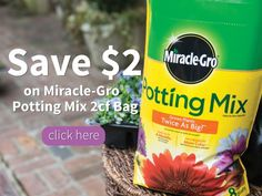 It's Spring, and it's time to get your garden, flowers, and yard together! Here's a great coupon to help you save a few bucks: Save $2 on Miracle-Gro® Potting Mix -->> http://www.amittenfullofsavings.com/save-2-on-miracle-gro-…/  #ReadySetGro AD