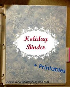 Christmas in July: Christmas Planner + Printables