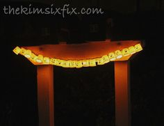 K-Cup Recycled Garland (Ghosts By Day, Pumpkins By Night) via TheKimSixFix.com