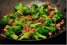 Ginger Beef with Chinese Broccoli recipe