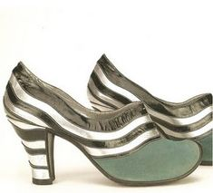Perugia Shoes - 1937 - by André Perugia (French, 1893-1977) - @Mlle
