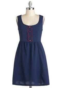 Tulle Clothing Frisbee on Flagstaff Hill Dress | Mod Retro Vintage Dresses | ModCloth.com