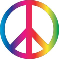 The Peace Sign was designed in 1958, not the 1960s as many people think. It was designed & first used in Britain for the Campaign for Nuclear Disarmament by Gerald Holtom. It later became a symbol of 1960s counterculture and an internationally recognized symbol for peace.
