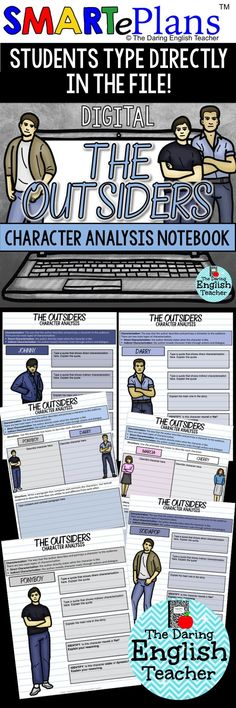 Like my essay on The Outsiders by S.E. Hinton?