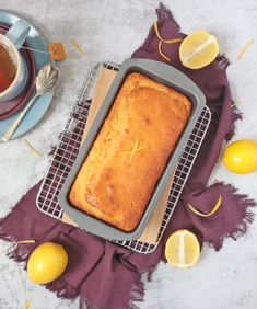 This Lemon Drizzle Cake is such an easy and deliciously tangy lemon cake to make at home. Enjoy it for breakfast, morning and afternoon tea or dessert! Easy Lemon Drizzle Cake, Lemon Icing, Lemon Dessert Recipes, Easy Cake Recipes, Lemon Tea Cake, Coconut Tart, Icing Ingredients, Breakfast On The Go, Tea Cakes