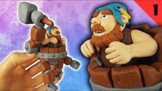 Battle Machine (Clash of Clans) - Polymer Clay Fimo Tutorial Part 1 #clashofclans #battlemachine