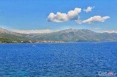 Widok na Orebić i półwysep Pelješac | CroLove.pl | #croatia #hrvatska #chorwacja #korcula
