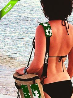 """So many of our people asked for this that we had to design and offer it! So here it is, by popular demand (literally), the matching shoulder strap to carry your DeckBagZ SUP deck bag """"hands free"""". Dec"""
