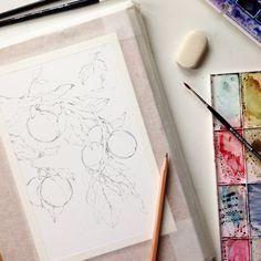 Sketch 🌿 #art #открытка #sketch#picture #рисуюкаждыйдень #drawing#timetoart #artist #arts_gallery #waterblog#art_we_inspire #artsourse #illustration #love#подарок #акварель #художник#иллюстрация #ручнаяработа #дизайн#скетч #handmade #рисунок #art_stupenka#cartel_watercolorists #topcreator #watercolor #брошь #любовь