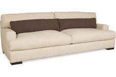 low, deep lounger | Lee Industries 7822-03 Sofa | gr N w/ contrast pillow: $2655
