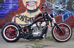'New Jersey Devil' Honda VLX600 Shadow