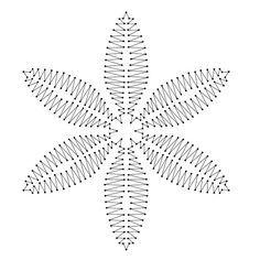 lace string art - Buscar con Google