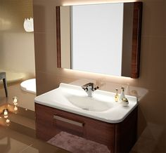AB Glamour Basin & Vanity Unit (Width 760 x Depth 480mm)